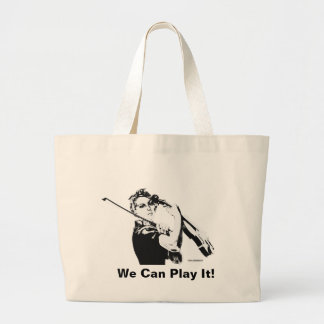 Rosie the Fiddler tote bag