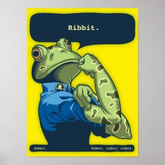 Rosie the Ribbiter Poster