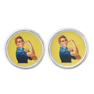 Rosie the Riveter Cufflinks