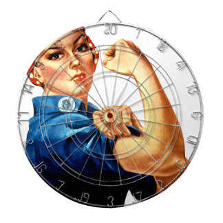 Rosie The Riveter Dartboard