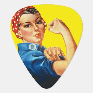 Rosie The Riveter Feminism Guitar Pic Guitar Pick
