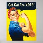 Rosie the Riveter GOTV poster