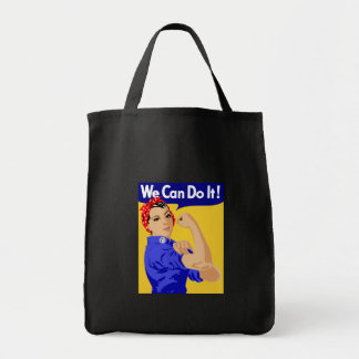 Rosie the Riveter graphic design Tote Bag