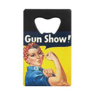 Rosie The Riveter: Gun Show!