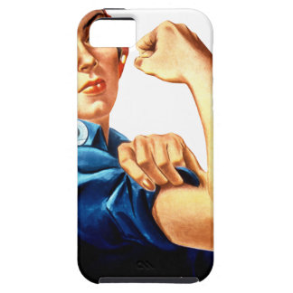Rosie The Riveter iPhone 5 Cover