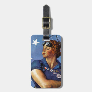 """Rosie the Riveter"" Luggage Tag"