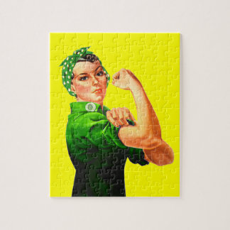 Rosie The Riveter - Military Support Puzzles