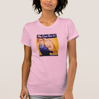 Rosie the Riveter Pink T-Shirt