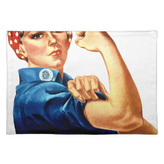 Rosie The Riveter Placemat