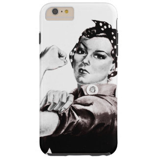 Rosie the Riveter Tough iPhone 6 Plus Case