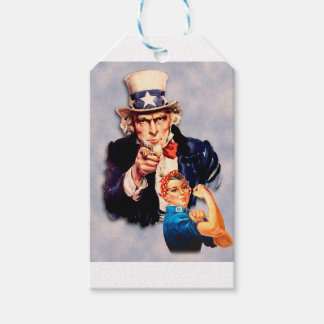 Rosie the Riveter & Uncle Sam design