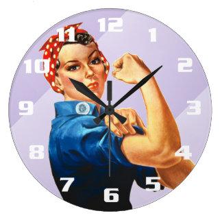 Rosie the Riveter Wallclock