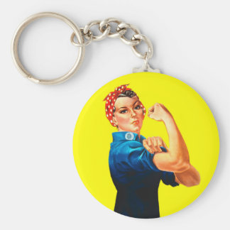 Rosie the Riveter - We can do it, Cultural Icon Keychain
