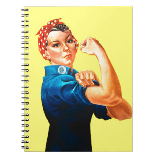 Rosie the Riveter - We can do it, Cultural Icon Note Books