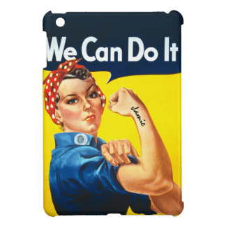 Rosie the Riveter We Can Do It iPad Mini Case