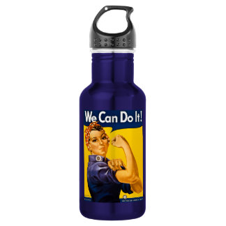 Rosie the Riveter We Can Do It Vintage 532 Ml Water Bottle