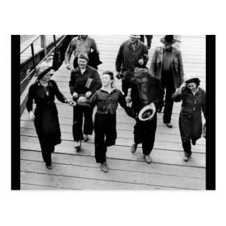 Rosie the Riveters on the Boardwalk Postcard