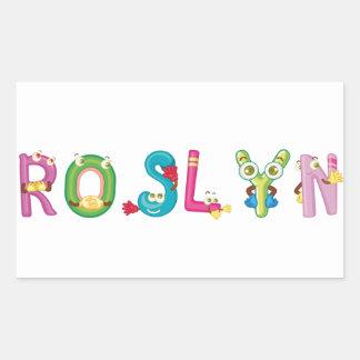 Roslyn Sticker
