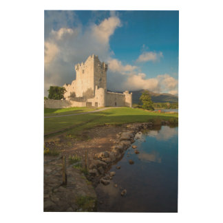 Ross Castle, Vertical Wood Wall Decor