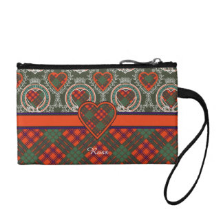 Ross clan Plaid Scottish tartan Coin Purse