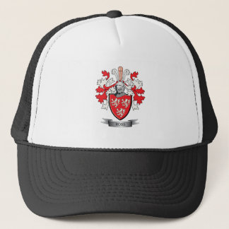 Ross Family Crest Coat of Arms Trucker Hat