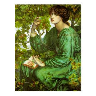 Rossetti The Day Dream Postcard