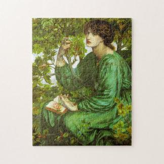Rossetti The Day Dream Puzzle