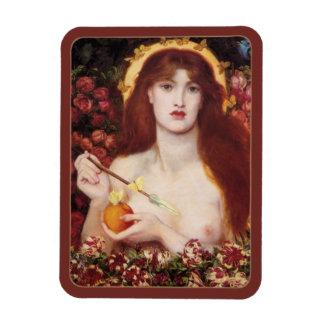 Rossetti Venus Verticordia CC0701 Fine Art Rectangular Photo Magnet