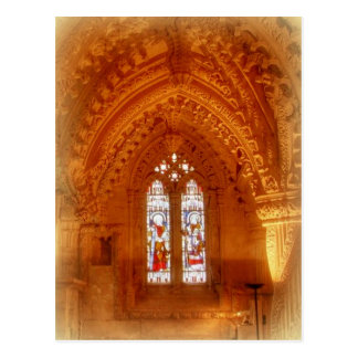 Rosslyn Chapel Interior Postcard