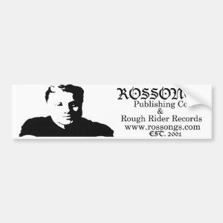 RosSticker Bumper Sticker