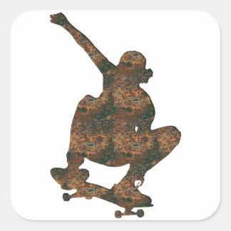 Rost Skateboard Sticker