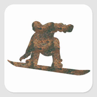 Rost Snowboard Sticker