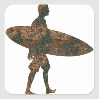 Rost Surfer Sticker