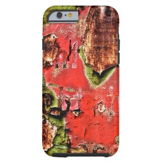 ROSTart_873.0c, colors of rust Tough iPhone 6 Case