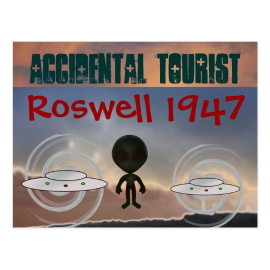 Roswell 1947 postcard