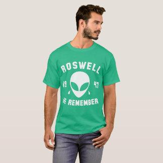 ROSWELL 1947 WE REMEMBER ALIEN T-Shirt