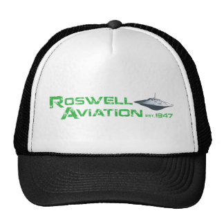 Roswell Aviation Mesh Hats