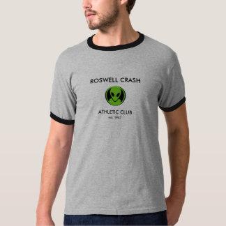 ROSWELL CRASH, ATHLETIC CLUB, est.... T-Shirt