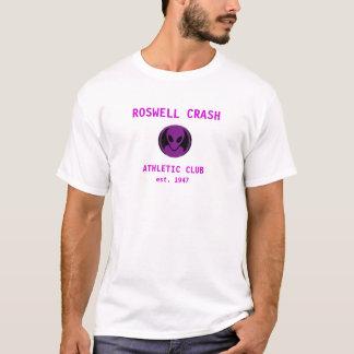 Roswell Crash Purple T-Shirt