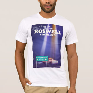 Roswell Extraterrestrial Highway travel poster T-Shirt