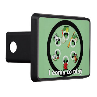 Roswell jokes trailer hitch cover