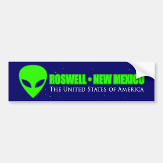 Roswell New Mexico Bumper Sticker