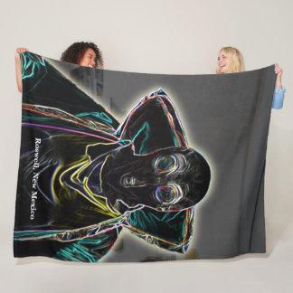 Roswell, New Mexico Fleece Blanket