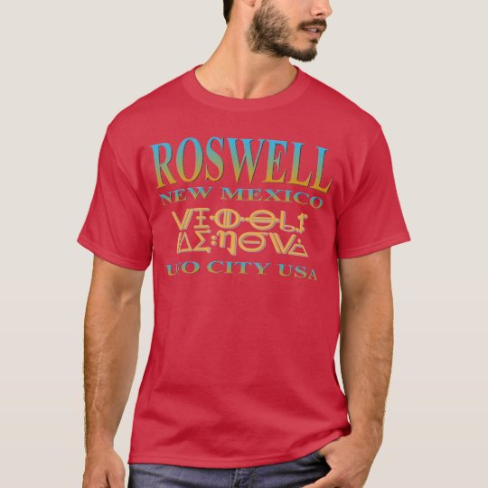 Roswell UFO City T-Shirt