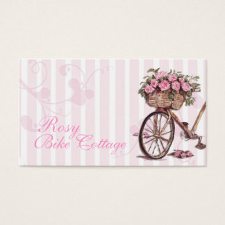 Rosy Bike Business Cards