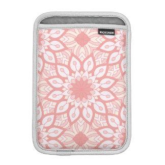 Rosy floral mandala geometric pattern iPad mini sleeve