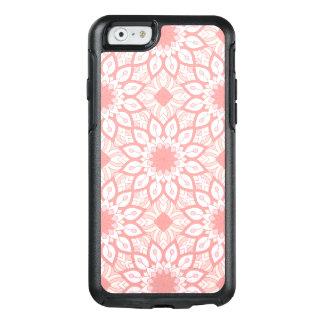 Rosy floral mandala geometric pattern OtterBox iPhone 6/6s case