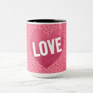 Rosy Pink Love Mug
