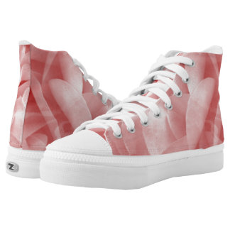 Rosy Rose High Top Shoes Printed Shoes