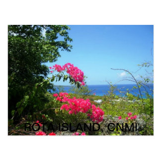 Rota Island View Postcard